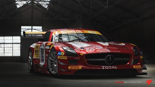 Mercedes Benz Black Falcon SLS AMG GT3 Forza Motorsport 4