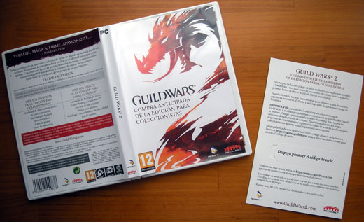 Compra anticipada de Guild Wars 2