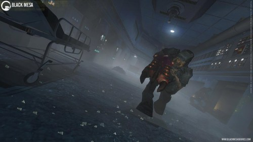 Pinta que tiene actualmente Black Mesa, el remake de Half-Life
