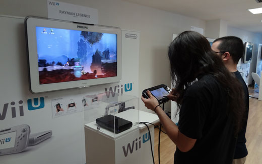 Evento Wii U Rayman Legends