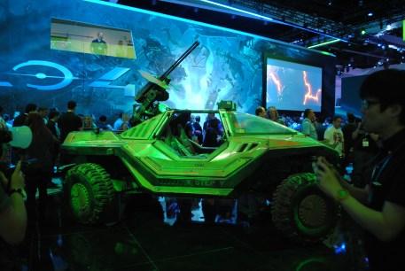 Un Warthog en el E3 2012