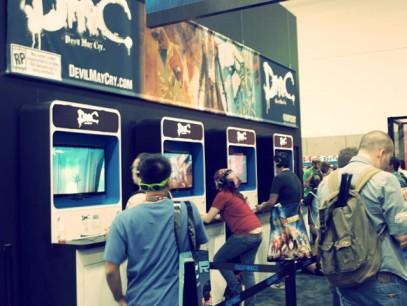 Stand de DMC en la Comic-Con 2012