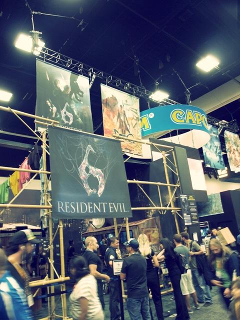 Stand de Resident Evil en la Comic-Con 2012