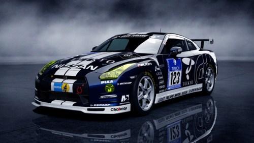 Nissan GT-R N24 GT Academy 2012