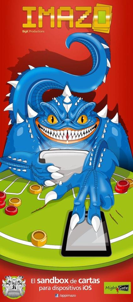 Poster de iMazo, diseñado por Roswell
