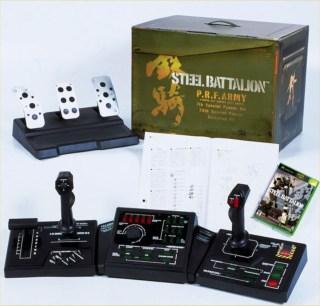 Mando de Steel Battalion para Xbox