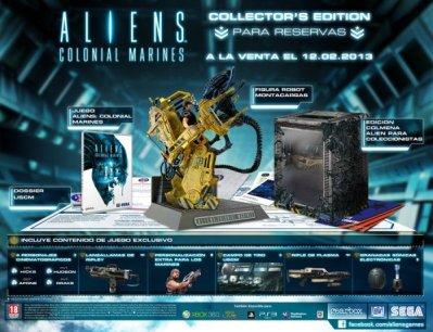 Alien Colonial Marines Edición Coleccionista