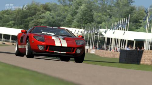 Ford GT sobre el terreno de Goodwood