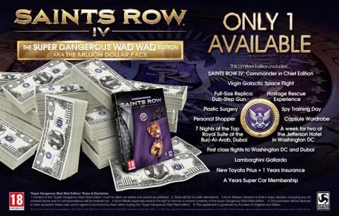 Saints Row 4 edición 1 millón