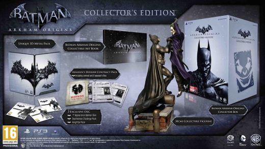 Batman: Arkham Origins Edición Coleccionista