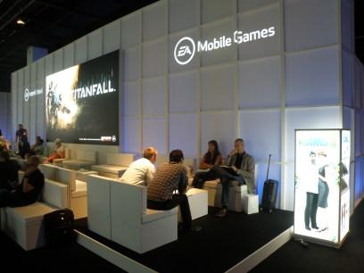 Gamescom EA stand