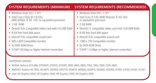 Requisitos PES 2014 para PC