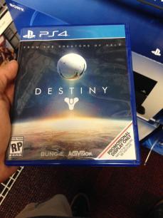 Caja de Destiny para PS4