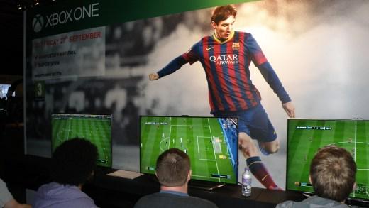 EGX13 FIFA14 Xboxone