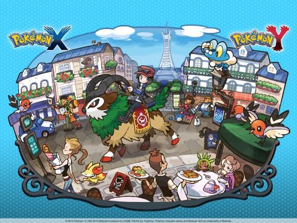 Wallpaper de Pokémon X y Pokémon Y