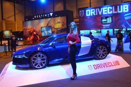 Stand de Driveclub en la Madrid Games Week