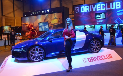Stand de Driveclub en la Madrid Games Week