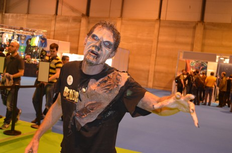 Zombie en la Madrid Games Week