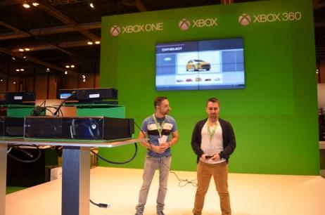 Stand de Xbox One en la Madrid Games Week