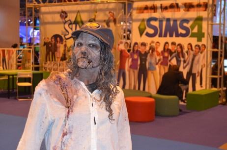 Stand de The Sims 4 en la Madrid Games Week