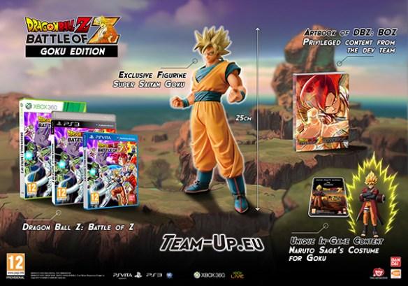 Dragon Ball Z Battle of Z Coleccionista