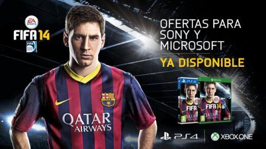 FIFA 14 PS4/Xbox One