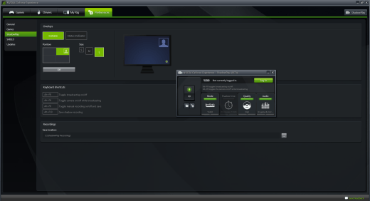 NVIDIA ShadowPlay