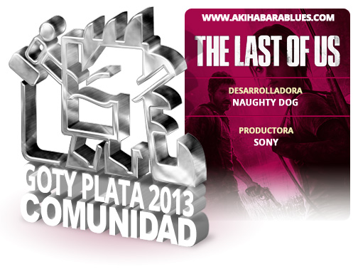 GOTY 2013 Plata The Last of Us