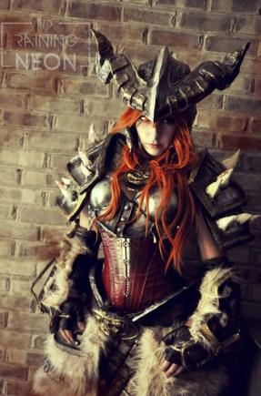 Cosplay de Bárbaro de Diablo III