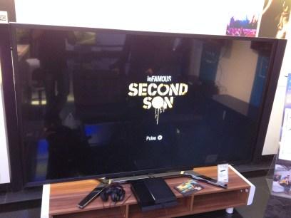 Televisión 4K con inFAMOUS Second Son de PS4