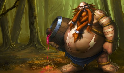 Gragas de League of Legends