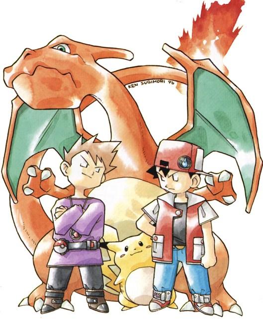 Pokemon-Sugimori-Rivals