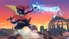 Super Smash Bros Greninja