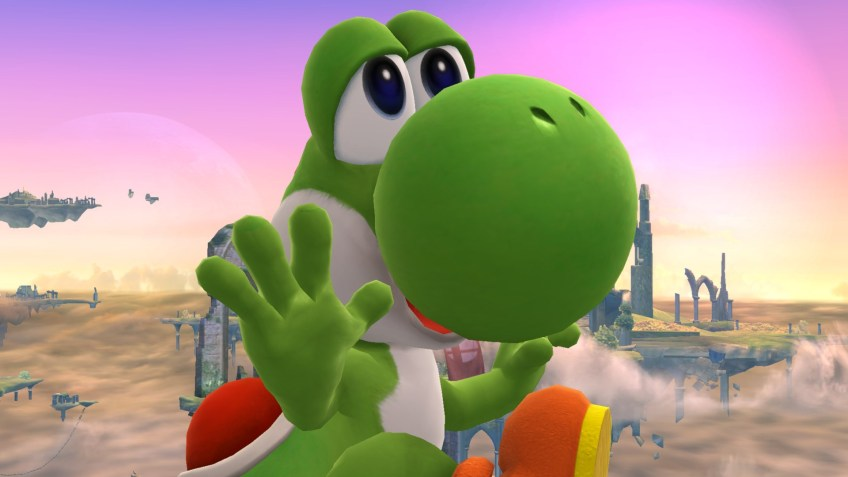 Super Smash Bros Yoshi