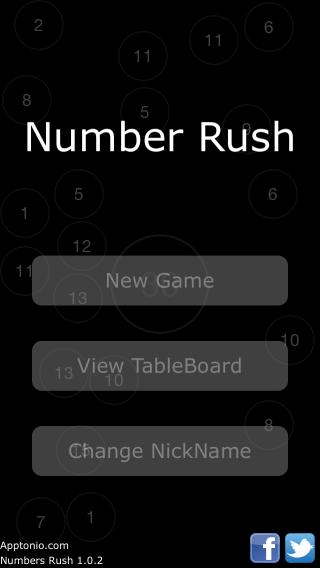 Numbers rush