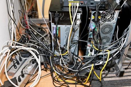 Por un cable mas no pasará nada