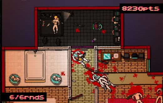 Pese al formato pixel, Hotline Miami es uno de los videojuegos más violentos de nuestros días
