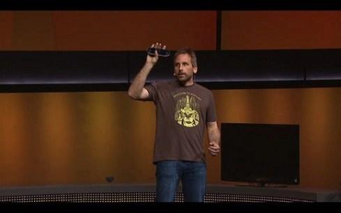 Ken Levine durante la presentación del PSVita