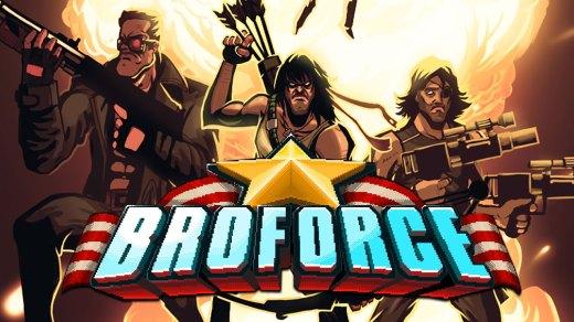 Cartel de Broforce