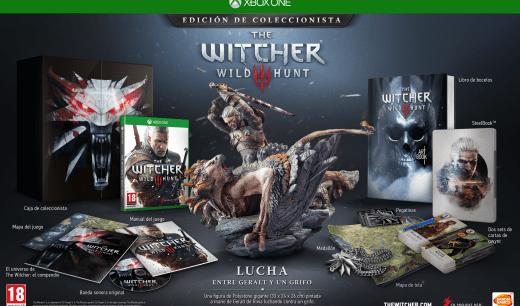 The Witcher 3 Edición Coleccionista