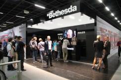 Stand de Bethesda en la Gamescom 2014