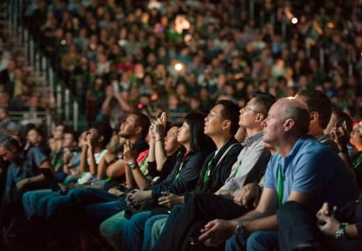 Público en el E3