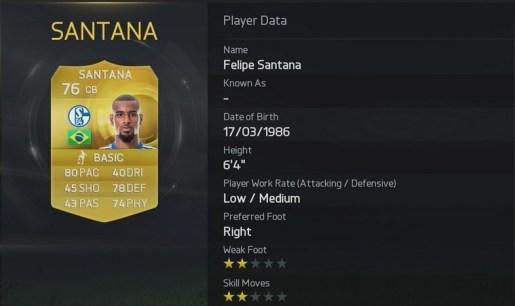 Fifa 15 Santana