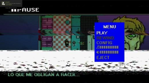 El efecto de ruido en el video es otro de los detallazos de este juego