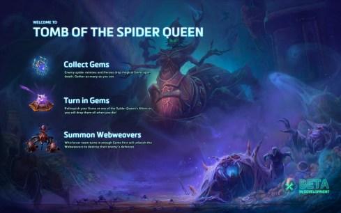 Heroes Of Storm Tumba De La Reina Araña