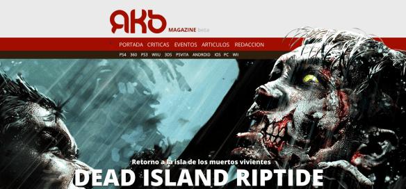 Template AKB Beta Dead Island