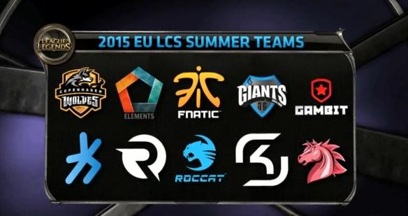 LCS Summer Split 2015