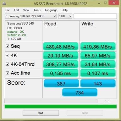 Samsung EVO 850 120 GB