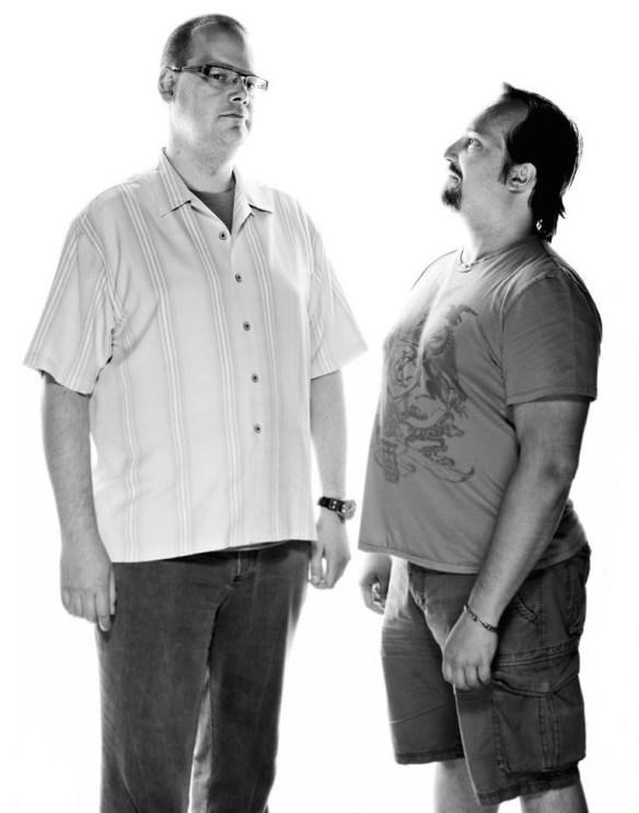 Ray y Greg, por Craig Washburn