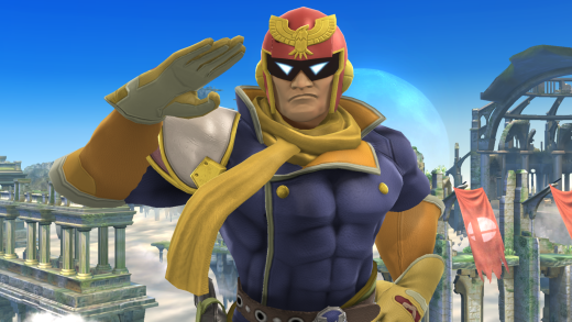 Captain_Falcon_haciendo_una_burla_en_el_Campo_de_batalla_SSB4_(Wii_U)
